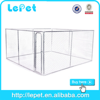 large outdoor wholesale chain link box decorated dog kennel house