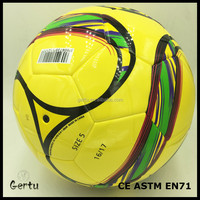2016 New arrival Famous Texture Design custom Soccer Ball