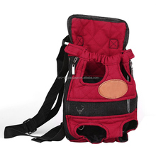 New Pet Dog Carry Canvas Front Travel Backpack Breathable Pet Bags Legs Out Shoulder Pet Puppy Carrier