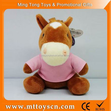 25cm cute horse plush <strong>toy</strong>