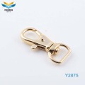 zinc alloy nice quality bronze snap hooks for bag