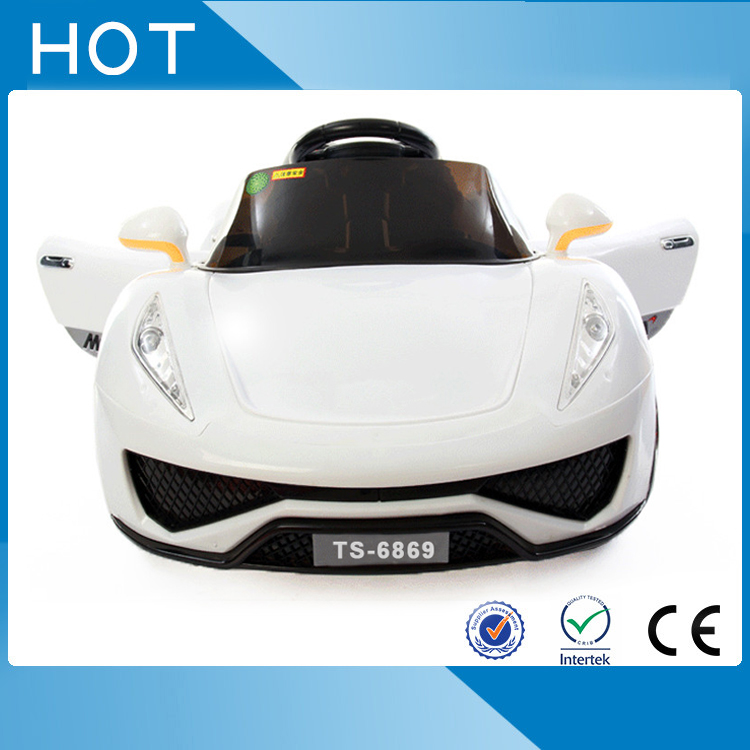 Cool LED light kids electric toy car on hot sale ride on electric toy car for child