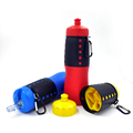 Foldable Silicone sport water bottle protable sports water bottle in Outdoor Recreation