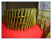 Top grade low price smooth/screw shank wire pallet coil nail