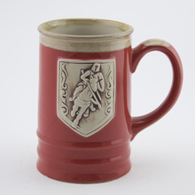 Ceramic beer stein mug or knight mug
