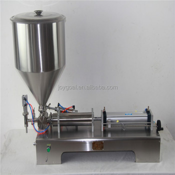 Lowest Price High Efficiency tomato paste filling machine/cream filling machine/peanut butter filling machine