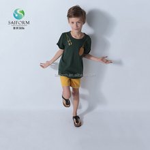 Wholesale kids short sleeve sports t shirt