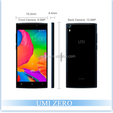 Original UMI Zero MTK6592T Octa Core 5.0'' 6.4mm Gorilla Glass Android 4.4 Mobile Phone 16GB ROM