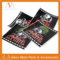 3M Front Fork Decals Stickers Graphics For KXF KLX EXC EXCFTC125 TC250 RM85 RM125 Dirt Bike Motocross Supermoto Racing ATV Quad