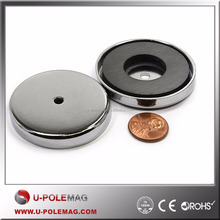 Strong Heavy Duty Ferrite/Ceramic Magnet Cup Magnet, Ceramic Pot Magnet