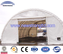 Metal Frame with PVC Fabric Dome Steel Building