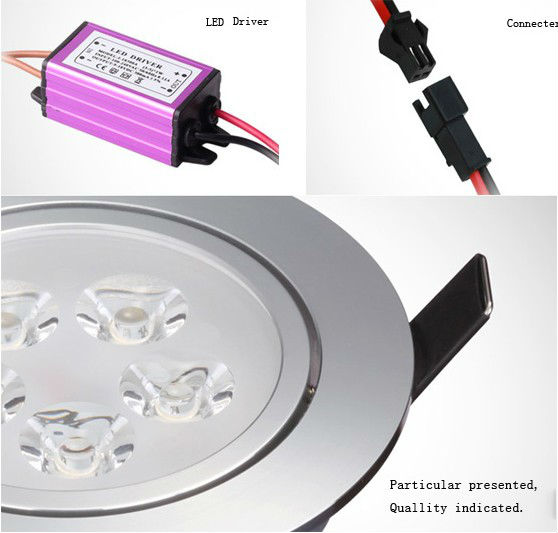 95mm cut size 5W LED downlight