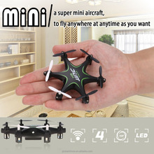 JJRC H18 Mini Dron Drone 4CH 360 Flips 2.4GHz RC Nano Hexacopter w / Headless Mode RTF 2017 New