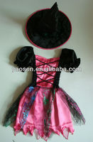 kids pink witch fairy costume for Halloween
