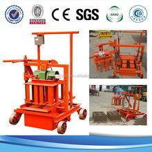 Hot selling QMR2-45 easy concrete solid brick making machine