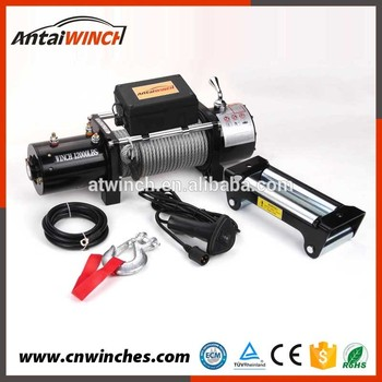 12000lbs Electric Motor Dc 12v Winch Buy Electric Winch