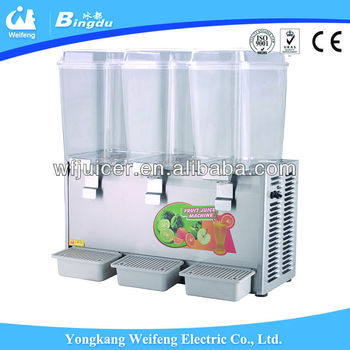 WF-A98/B98 3X18L spray cold juice dispenser machine