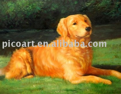 oil painting of animal