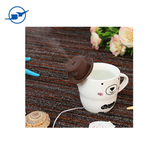 Cowboy Cap USB Mini Portable Humidifier Water Bottle Essential Oil Diffuser