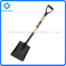Square Steel Shovel Tools Square Head Steel Shovel
