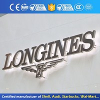 OEM different styles alphabet 3d sign letters logo