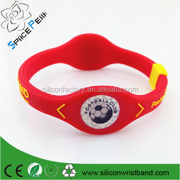 2015 hot Negative Ion Power Force Silicone Bracelets For NBABC wrist bands