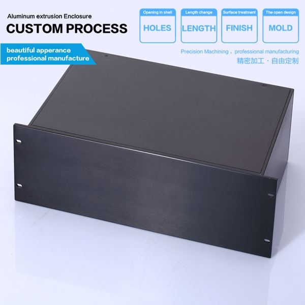 482*3u-D mm High quality aluminum box for industrial pc/embedded home computer case