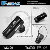 WK100 Wsound wireless earplugs for mp3/super bluetooth earpiece