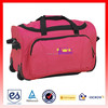 2015 new promotion hot products with travel zone luggage rolling duffel bag (ES-H005)