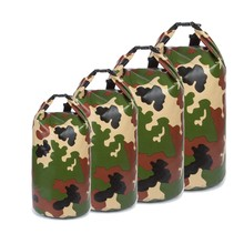 For Kayaking Camping Floating camouflage waterproof beach dry bag