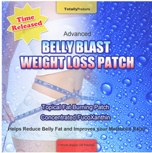 Advanced-Belly Blast Weight Loss Patch-Topical Fat Burning Patch-Concentrated Fucoxanthin-30 pieces-Slimming Patches