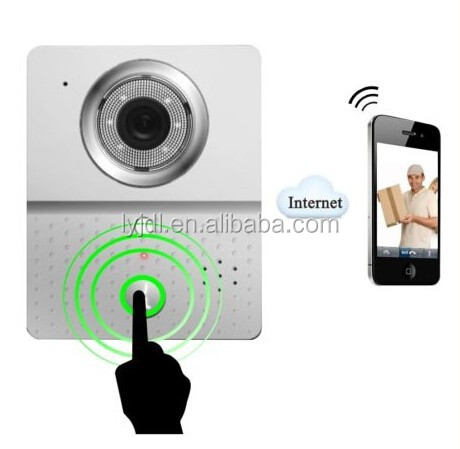 wifi ip video door phone,wireless video door phone,wifi door bell
