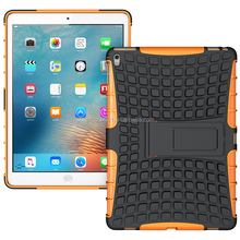 2016 NEW For IPAD PRO 9.7 Armor CASE Heavy Duty Hybrid Rugged TPU Impact Kickstand Tyre Case Cover ShockProof Spide CASE