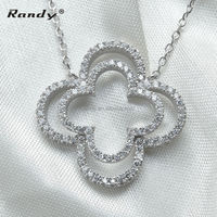 Whistle cubic zirconia necklace