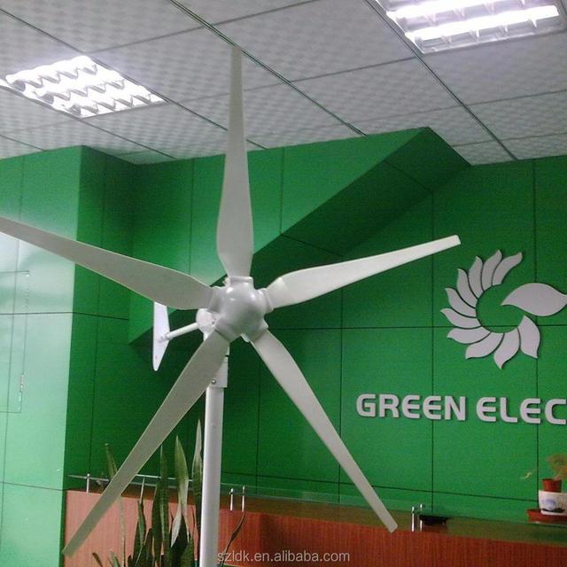600w wind turbine on farm lighting usage wind-solar hybrid system