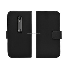 Newest ! High Quality PU leather flip case for Motorola moto G Turbo Edition , Wallet case for Motorola moto G Turbo Edition