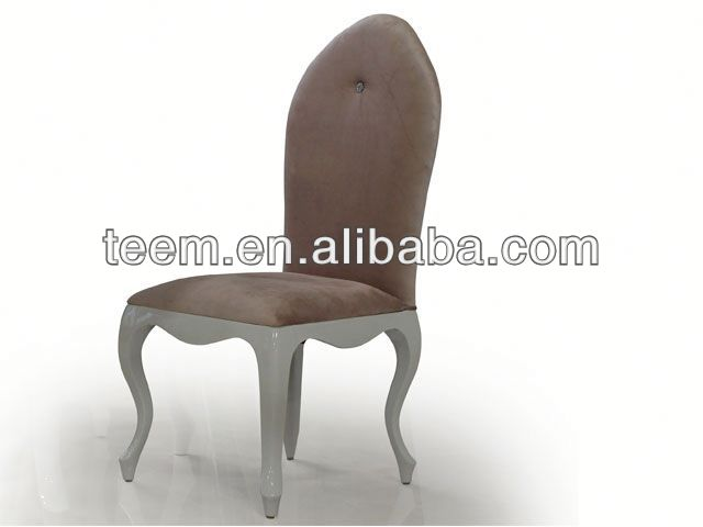 2013 New design Divany classic furniture white bamboo dining chair