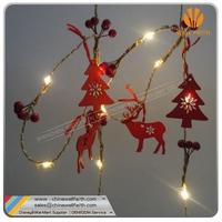 LED Christmas copper string light LED Christmas deer string light Santa reindeer string light