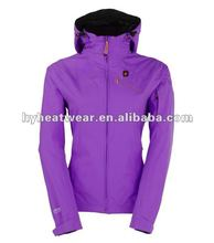 Chinese Clothing Manufacturers Rechargeable Battery Heated Plus Size Snowboard Jacket Womens