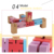 IQ wooden brain tearser Robot puzzle cubes Custom Wooden Robot Toy