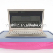 Hot sales wooden Laptop Lap Desk with cushion