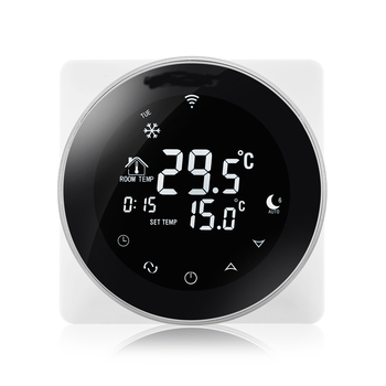 Floor heating system parts thermometer with thermostat WiFi temperature controller