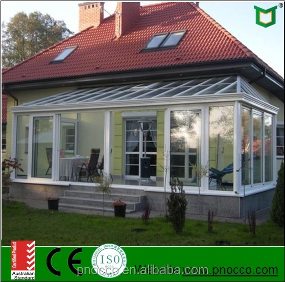 2016 China Supplier Provide Aluminum Sunroom Designs Greenhouse With Cheap Price For Sale