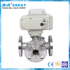 4 inch motorized 3 way Stainless Steel Electric Ball Valve
