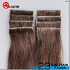 100% Remy human hair PU skin weft in full hand-tied