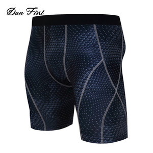 Wholesale Factory Men Sports Wear Custom Compression Running Shorts