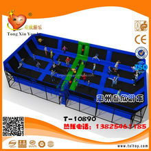 Kids euro indoor trampoline bed
