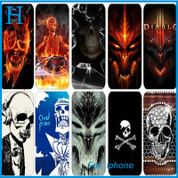 PC skull cell phone cases for iphone 4 4s 5 5s