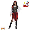 Lucida Halloween Carnival costume adult 93027 pirate new arrival party costume supplier