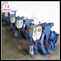 China Mobile Road Surface Shot Blasting Machine / Floor Cleaning
